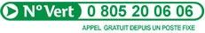 Numéro vert: 0805200606